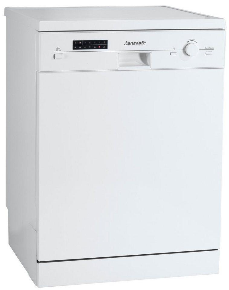 Hanseatic Geschirrspüler WQP12-9250C in weiß
