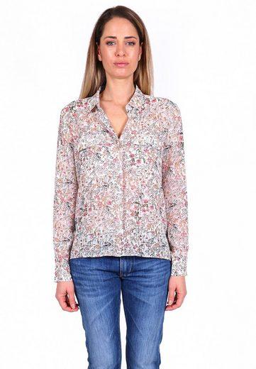 Le Temps Des Cerises Klassische Bluse »DARJAN« mit floralem Allover-Print