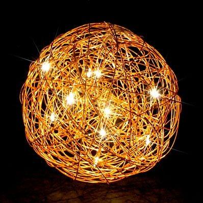 s luce bodenlampe drahtkugel mesh 6 flammig 50. Black Bedroom Furniture Sets. Home Design Ideas