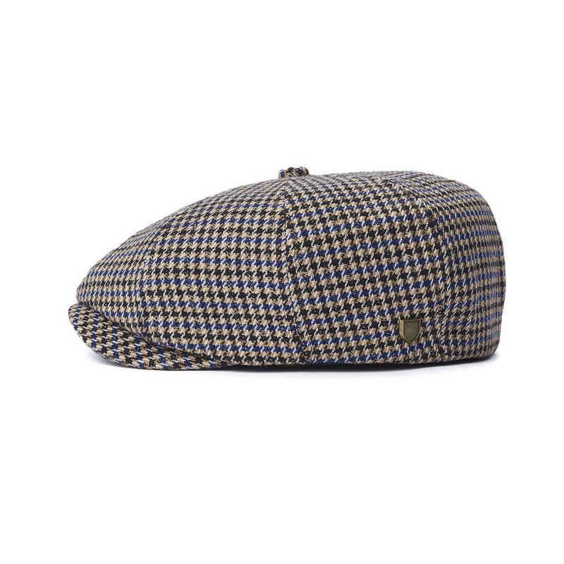 Brixton Schiebermütze »Brood Snap Cap - joe blue/khaki«