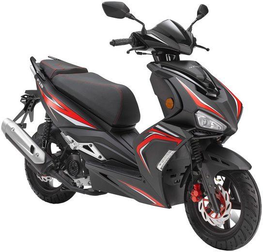 Luxxon Motorroller »F18«, 49 ccm, 45 km/h, Euro 4