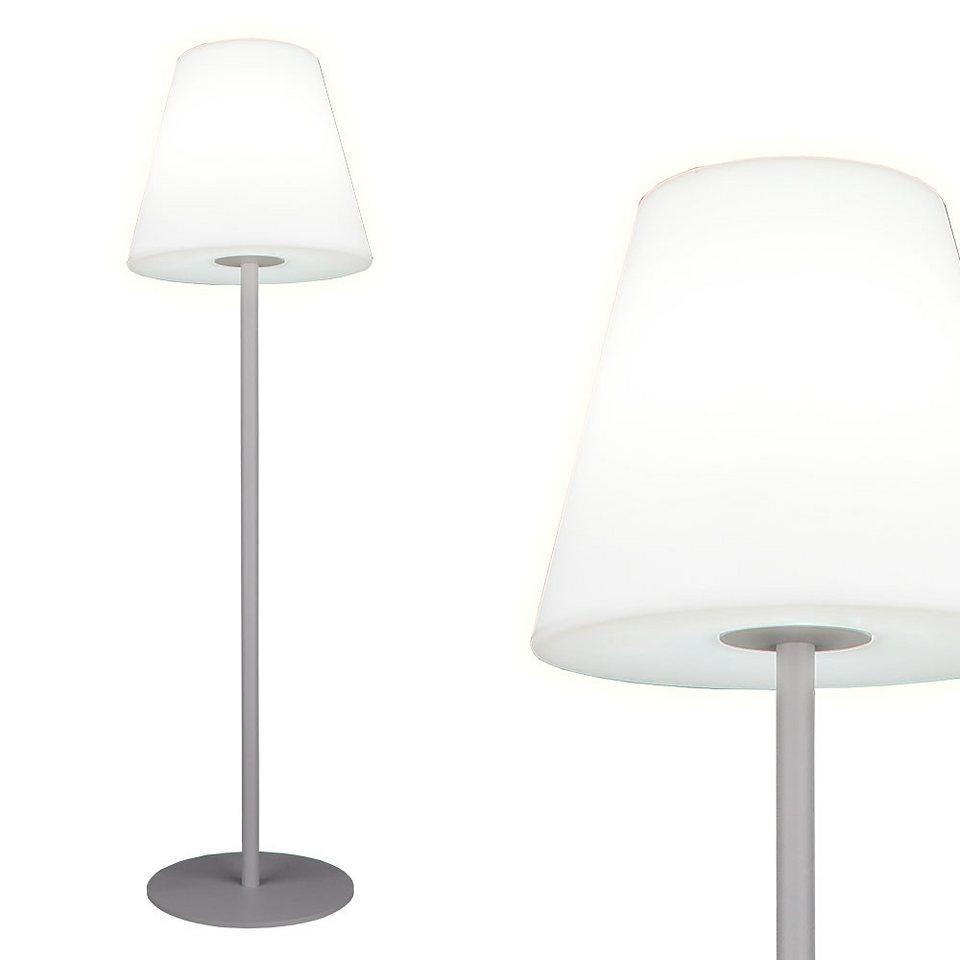 Sympathisch Stehleuchte Weiß Referenz Von S`luce Aussenlampe »pando L 150cm, Matt-weissÂ«