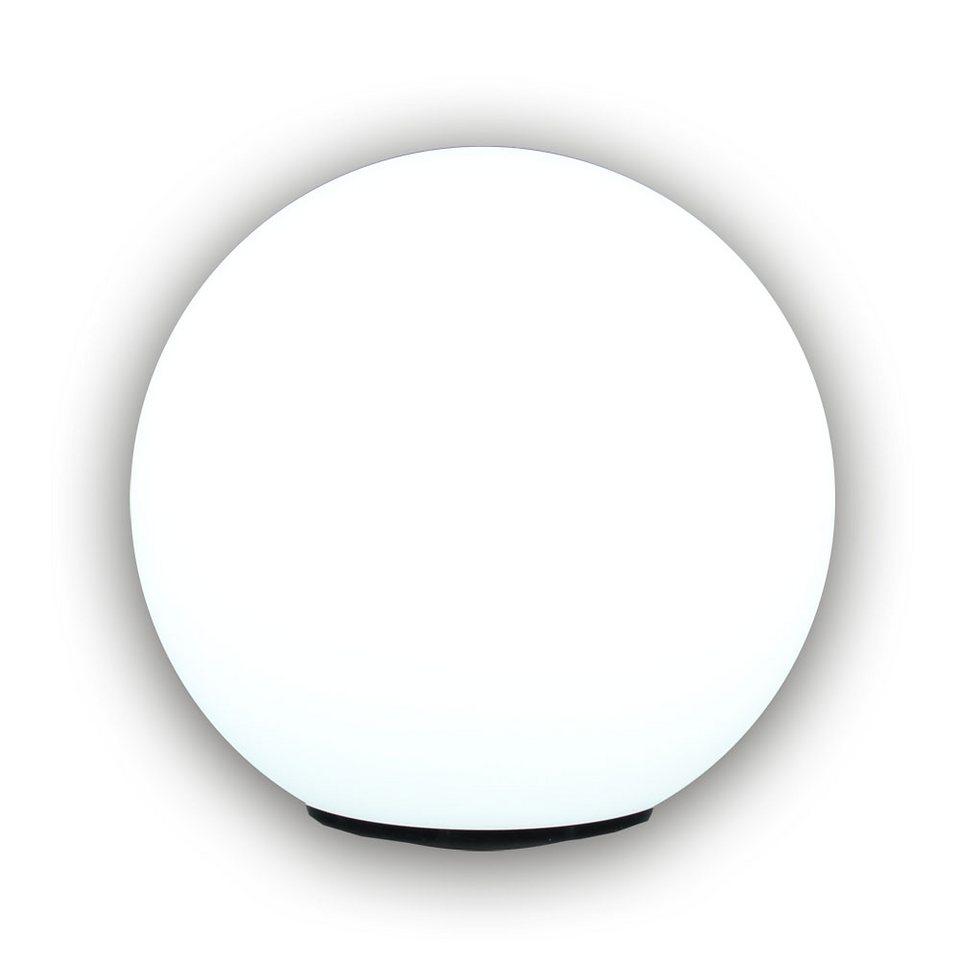 s luce aussen kugelleuchte gartenlampe globe 45cm matt weiss online kaufen otto. Black Bedroom Furniture Sets. Home Design Ideas