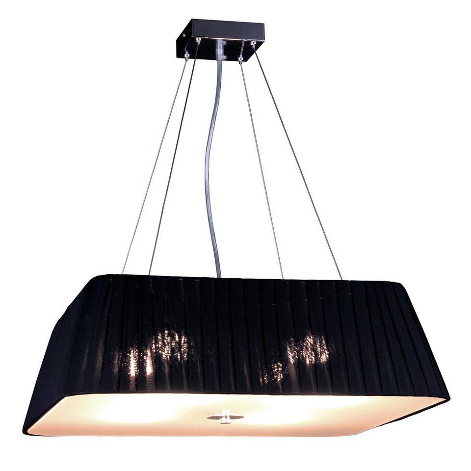 s luce h ngeleuchte stoff twine 4 flammig 60x60 schwarz online kaufen otto. Black Bedroom Furniture Sets. Home Design Ideas