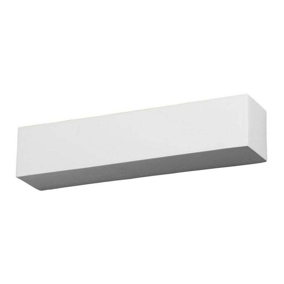 s luce wandlampe gipsleuchte gypsum 2 flammig eckig online kaufen otto. Black Bedroom Furniture Sets. Home Design Ideas