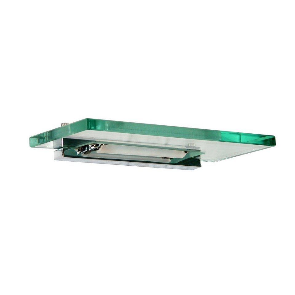 s luce wandleuchte mit transparentem glas iroc 30cm chrom online kaufen otto. Black Bedroom Furniture Sets. Home Design Ideas