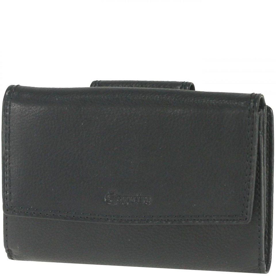 Esquire Duo Damengeldbörse Leder 13,5 cm in black
