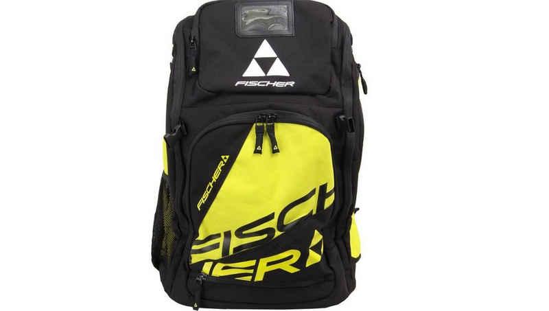 Fischer Skirucksack »Fischer Alpine Race Boot & Helmet Backpack 36 gelb«