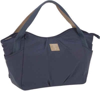 LÄSSIG Wickeltasche »Casual Twin Bag, Navy«, mit Rucksackfunktion und Wickelunterlage; PETA-approved vegan; zum Teil aus recycelten Material