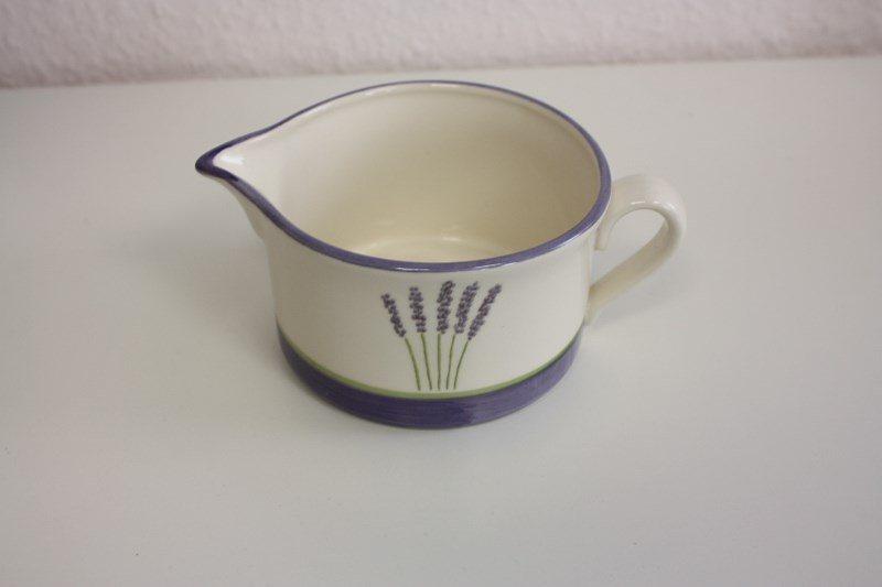 Zeller Keramik Sauciere »Fleur de Provence« in Weiß