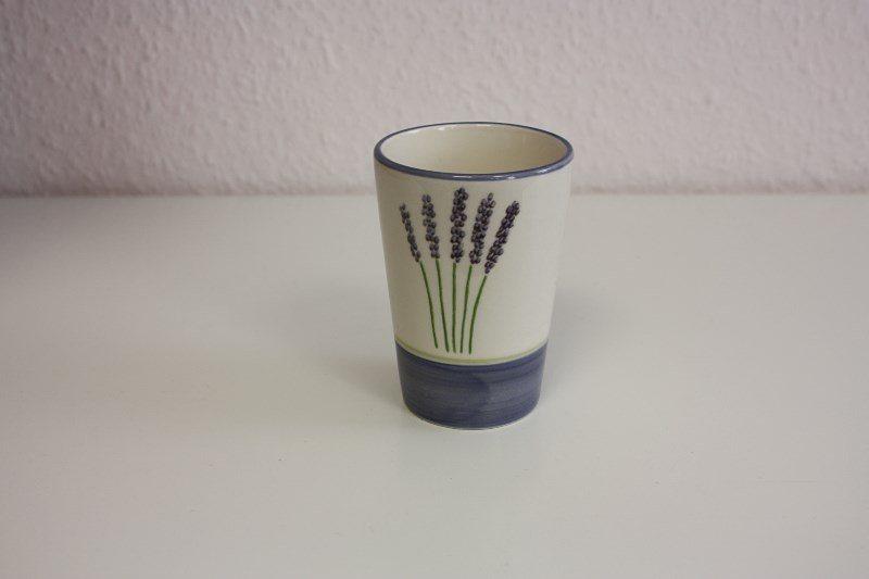 Zeller Keramik Milchbecher »Fleur de Provence« in Weiß