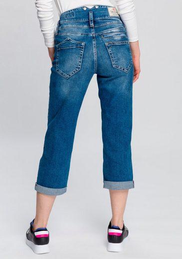 Herrlicher 7/8-Jeans »PITCH HIGH TAP« High Waisted