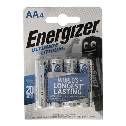 Energizer »Energizer L91 Lithium Batterie AA 1,5 Volt, 3000mA« Batterie