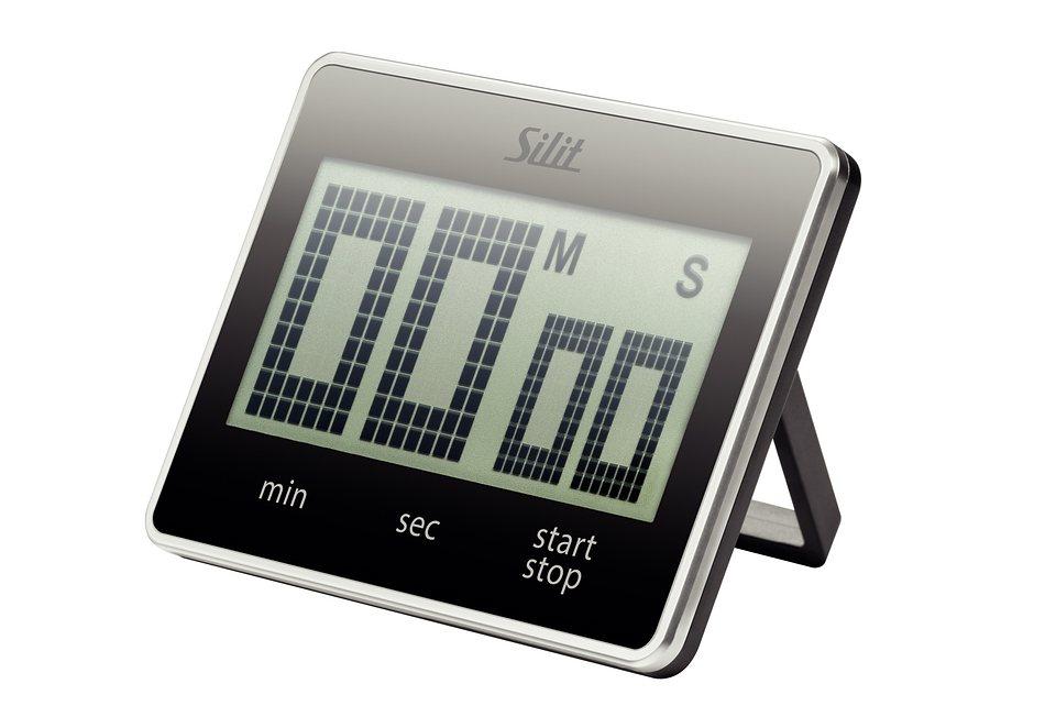 Digitaler Kurzzeitmesser, Silit, »Attimo« in schwarz