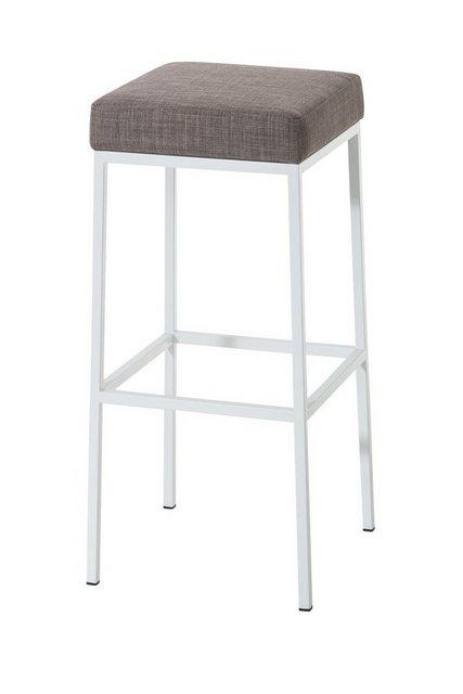 Sessel und Hocker - CLP Barhocker »Montreal 85 Stoff«, gepolsterte Sitzfläche und Gestell mit Fußstütze  - Onlineshop OTTO