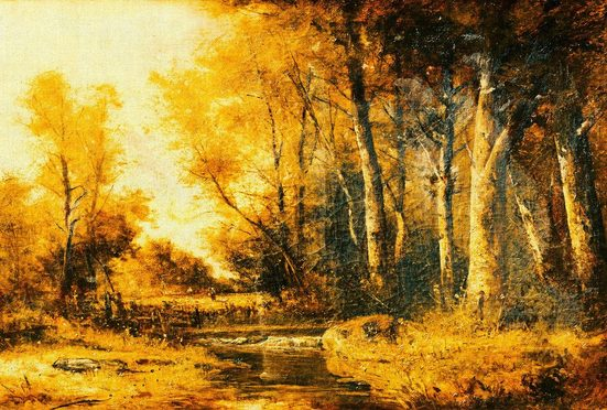 ARCHITECTS PAPER Fototapete »Atelier 47 Forest Painting 1«, Wald