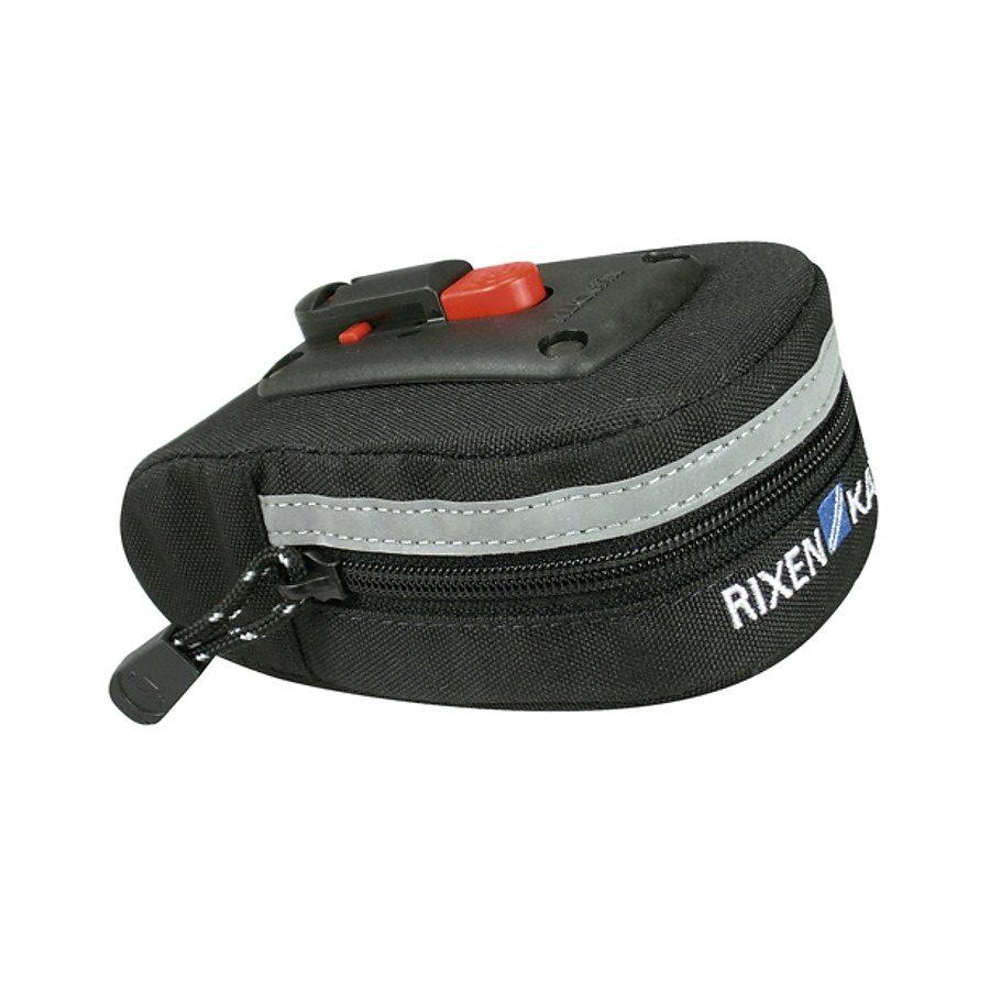 KlickFix Gepäckträgertasche »Micro 40 Satteltasche schwarz«