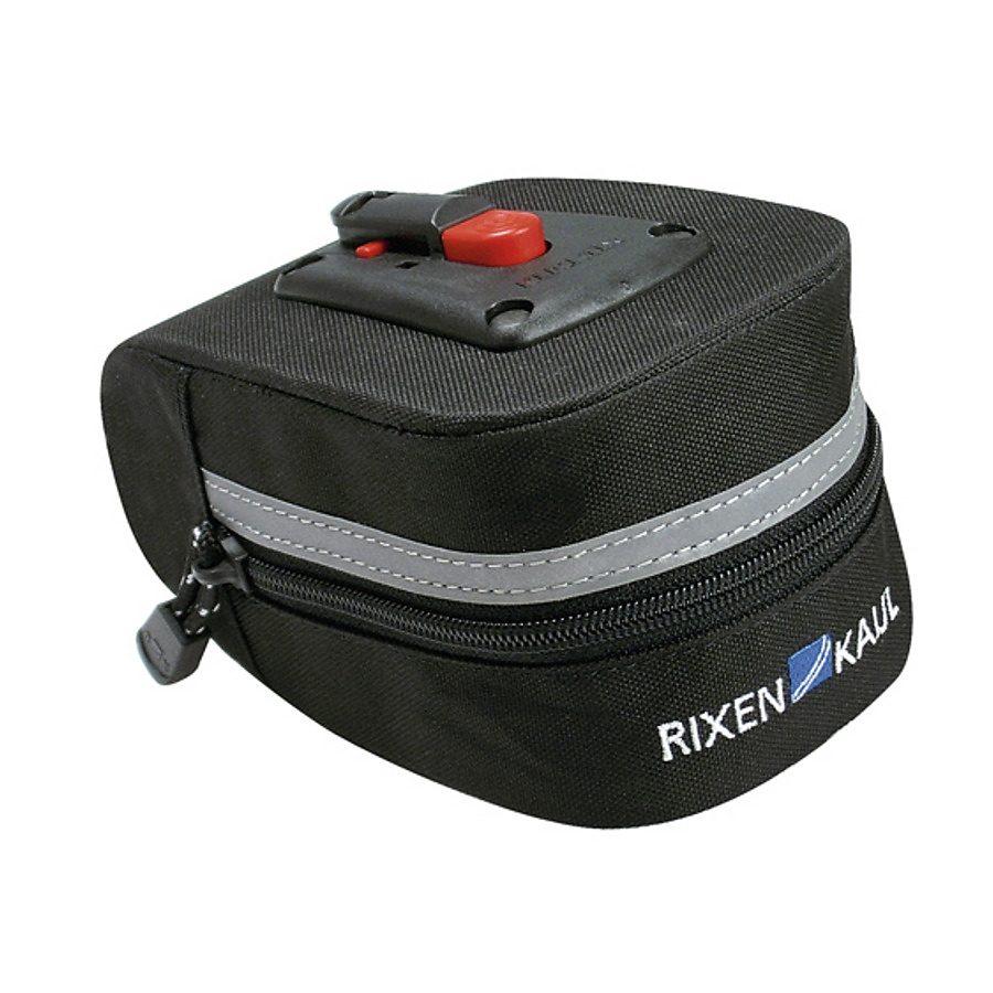 KlickFix Gepäckträgertasche »Micro 100 Satteltasche schwarz«