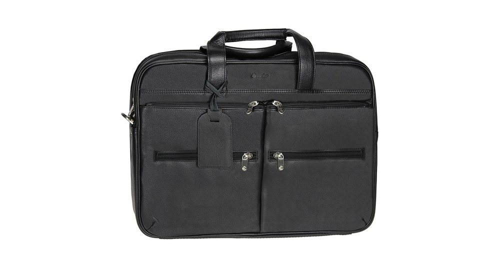 Esquire Courier Laptoptasche Leder 44 cm