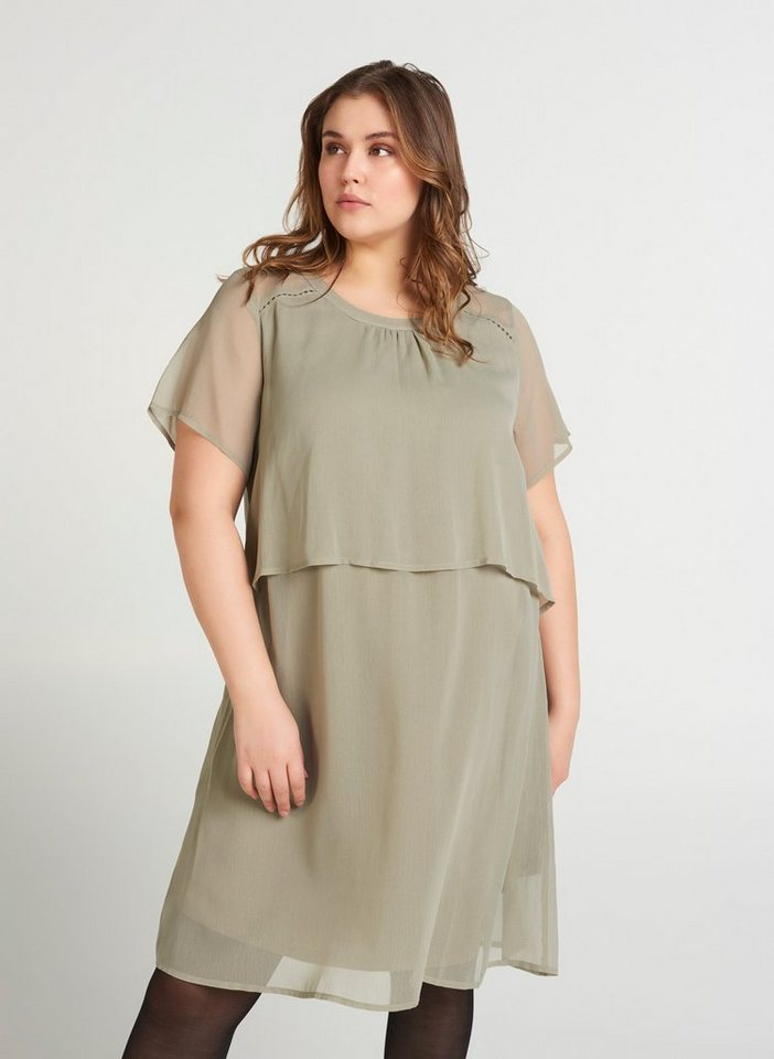 Mit kürzen kleid pailletten Abendkleider Pailletten