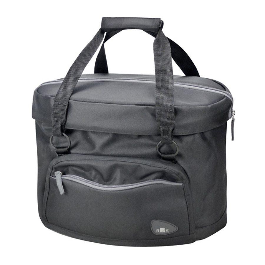 KlickFix Gepäckträgertasche »Shopper Fashion schwarz«