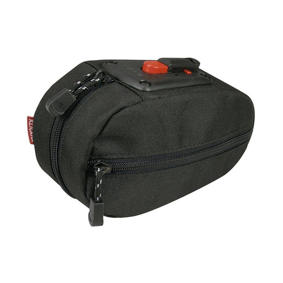 KlickFix Gepäckträgertasche »Micro SL Plus Satteltasche schwarz«