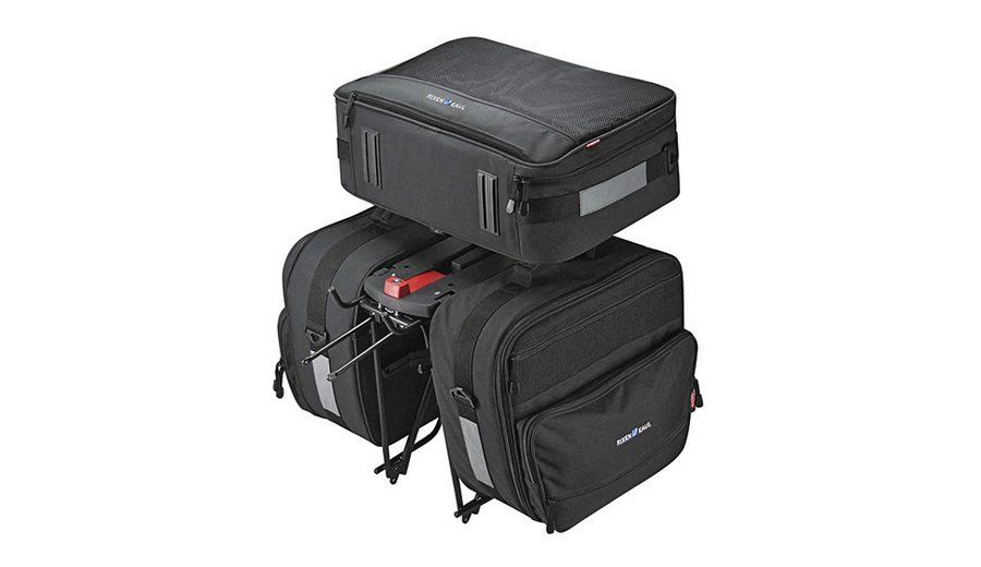 KlickFix Gepäckträgertasche »Travel Set GTA Gepäckträgertasche inklusive«