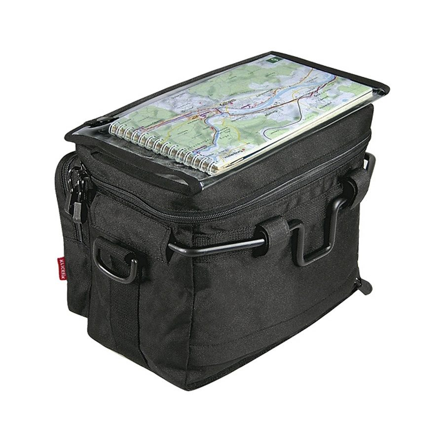 KlickFix Gepäckträgertasche »Daypack Lenkertasche schwarz«
