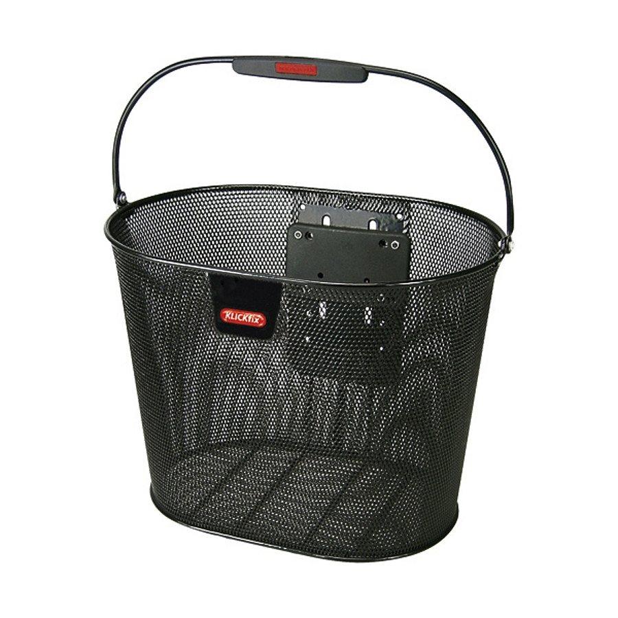 KlickFix Fahrradkorb »Oval Plus EF Korb schwarz«
