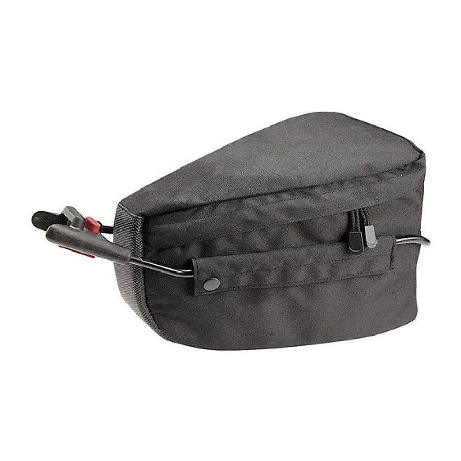 KlickFix Gepäckträgertasche »Contour Mudguard schwarz«