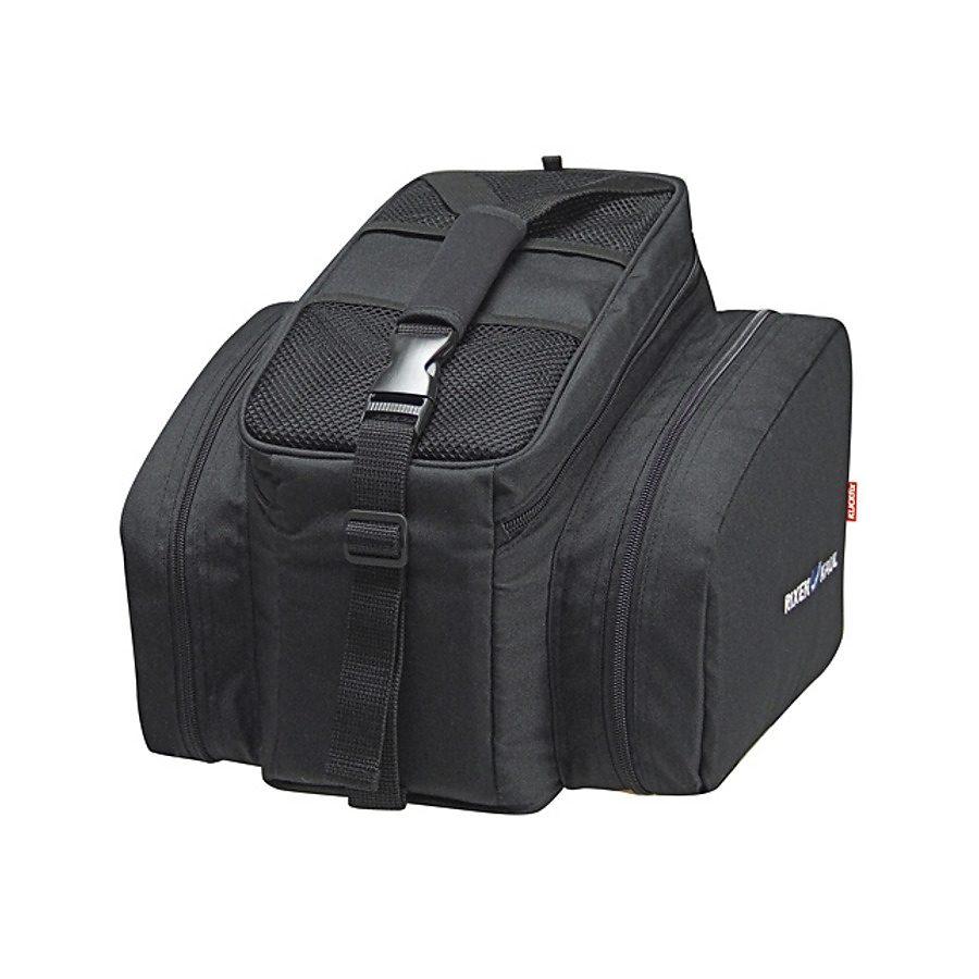 KlickFix Gepäckträgertasche »Rackpack 2 Plus Gepäckträgertasche schwarz«