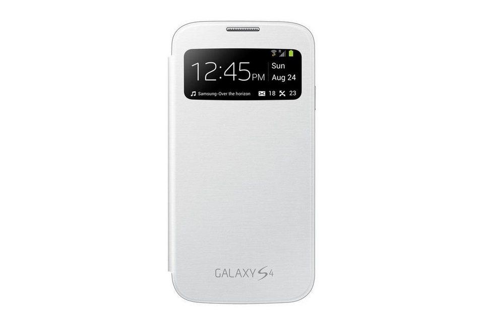Samsung Handytasche »S-View Cover EF-CI950B für Galaxy S4, Weiß« in Weiß