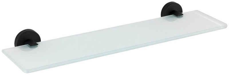 WENKO Wandregal »Bosio«, 1-tlg., Duschablage aus Glas