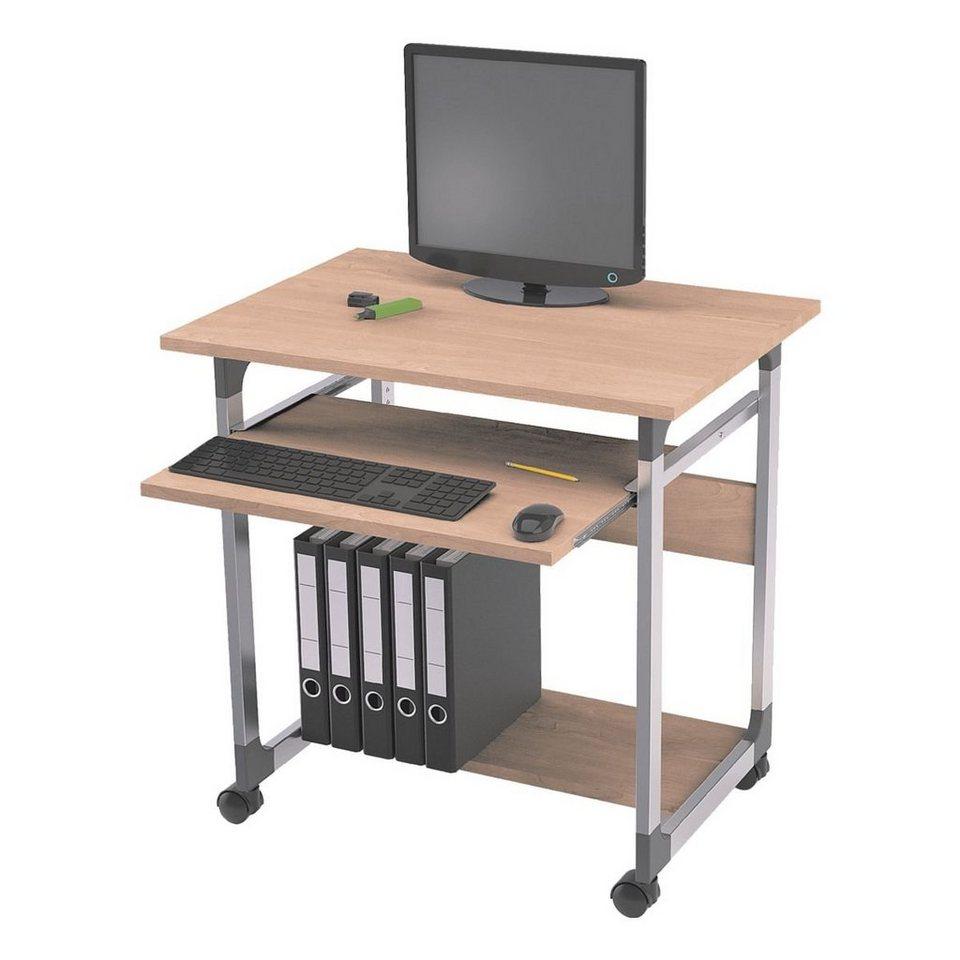 Durable PC-Arbeitstisch in buche