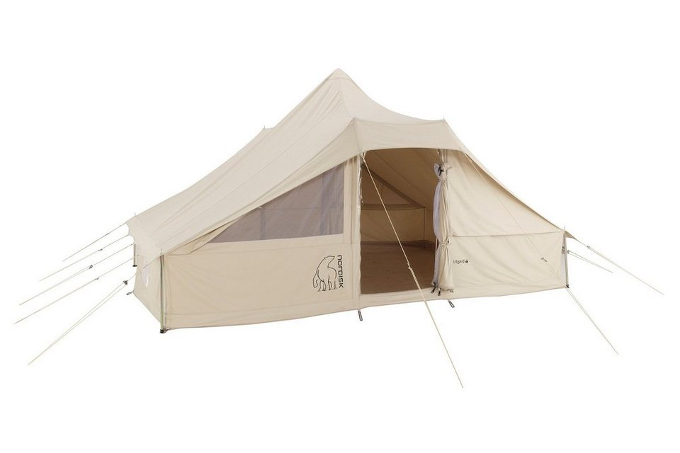 Nordisk Zelt »Utgard 13.2 m² Tent Technical Cotton« in beige