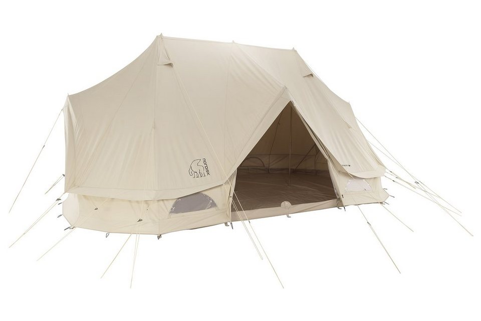 Nordisk Zelt »Vanaheim 24 m² Tent Technical Cotton« in beige