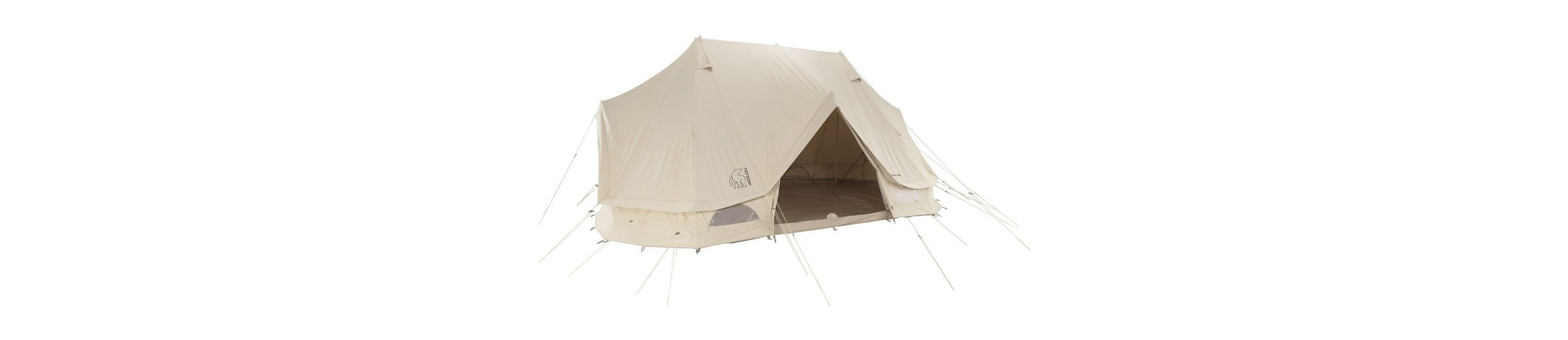 Nordisk Zelt »Vanaheim 24 m² Tent Technical Cotton«