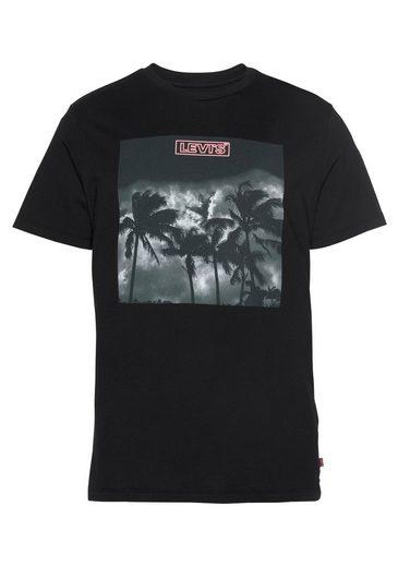 Levi's® T-Shirt mit großem Frontprint