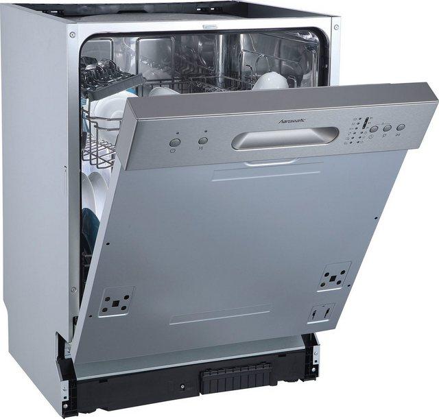 Küchengroßgeräte - Hanseatic teilintegrierbarer Geschirrspüler, HGTI6082E127735BS, 11 l, 12 Maßgedecke  - Onlineshop OTTO