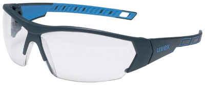 Uvex Arbeitsschutzbrille »uvex Schutzbrille i-works anthrazit/blau«