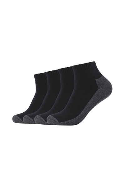 Camano Socken (4-Paar) Pro-Tex Funktion, 4er Pack Bund ohne Gummidruck