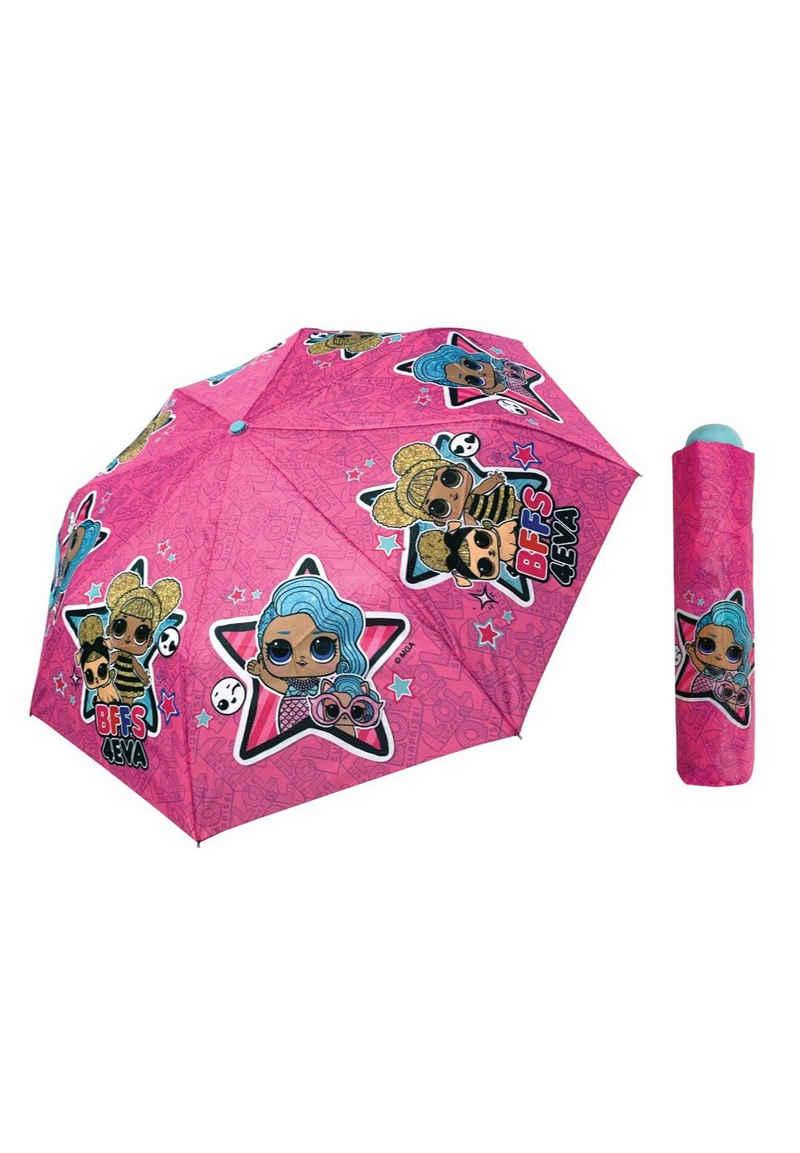 LOL Surprise Taschenregenschirm »Kinder Mädchen Taschen-Schirm Knirps Regenschirm«