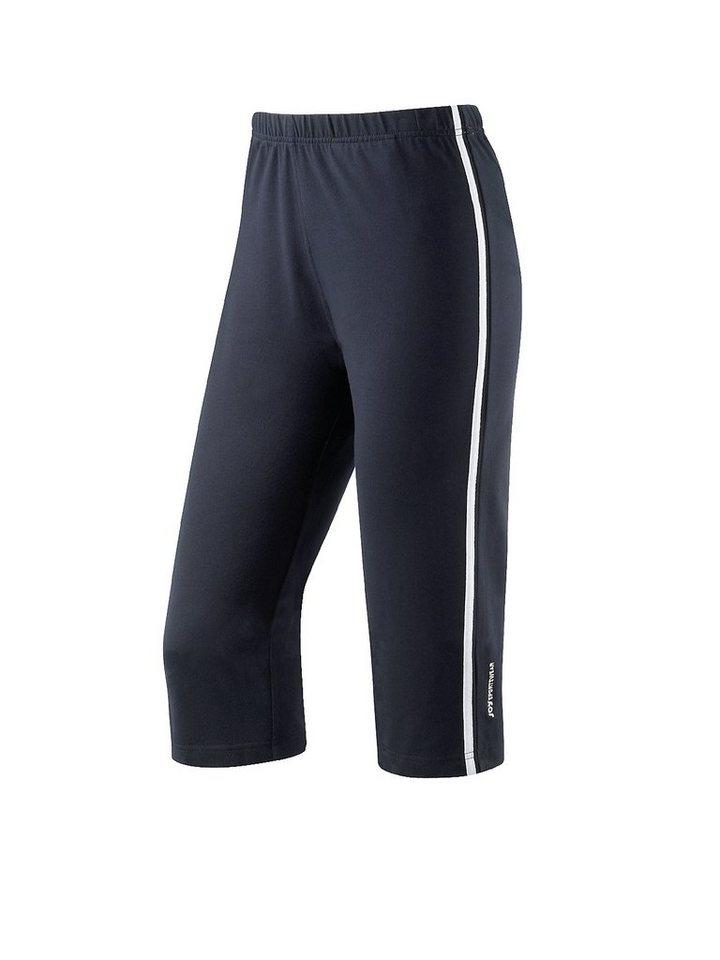 JOY sportswear Caprihose »SANA« in night/white