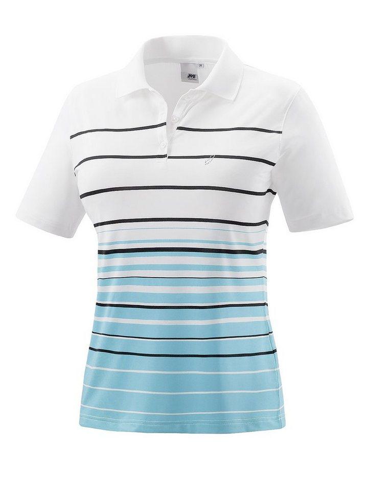 JOY sportswear Polo »INES« in blueshell stripes