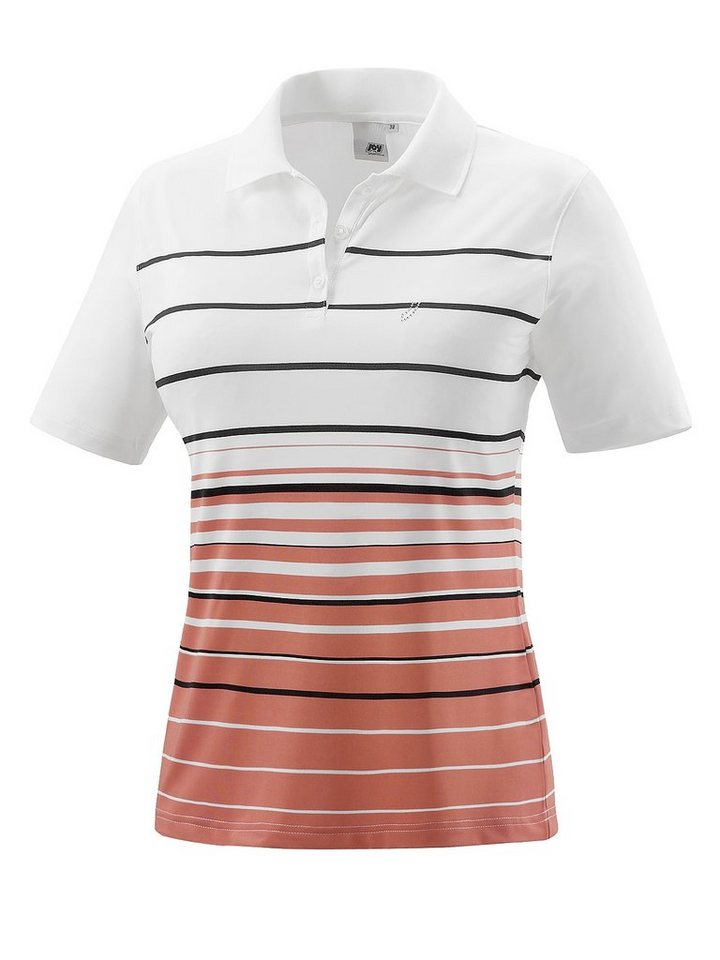 JOY sportswear Polo »INES« in calendula stripes