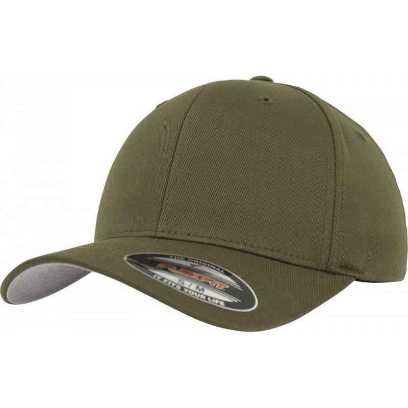 Flexfit Baseball Cap »Wooly Combed Cap olive - L-XL«