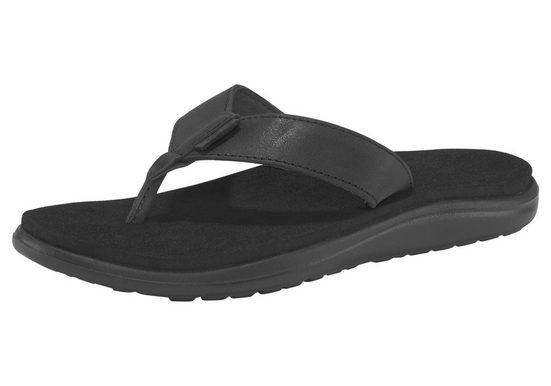 Teva »Voya Flip Leather Sandal W's« Zehentrenner
