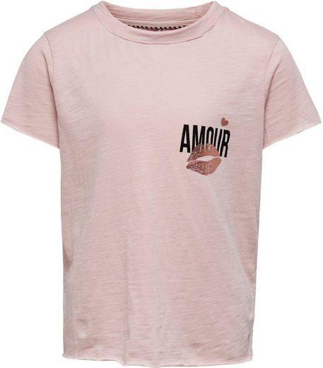 KIDS ONLY T-Shirt »KONABBY« mit kleinem Print