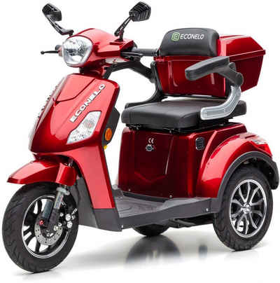 ECONELO Elektromobil »JL1000«, 1000 W, 25 km/h, (mit Topcase)