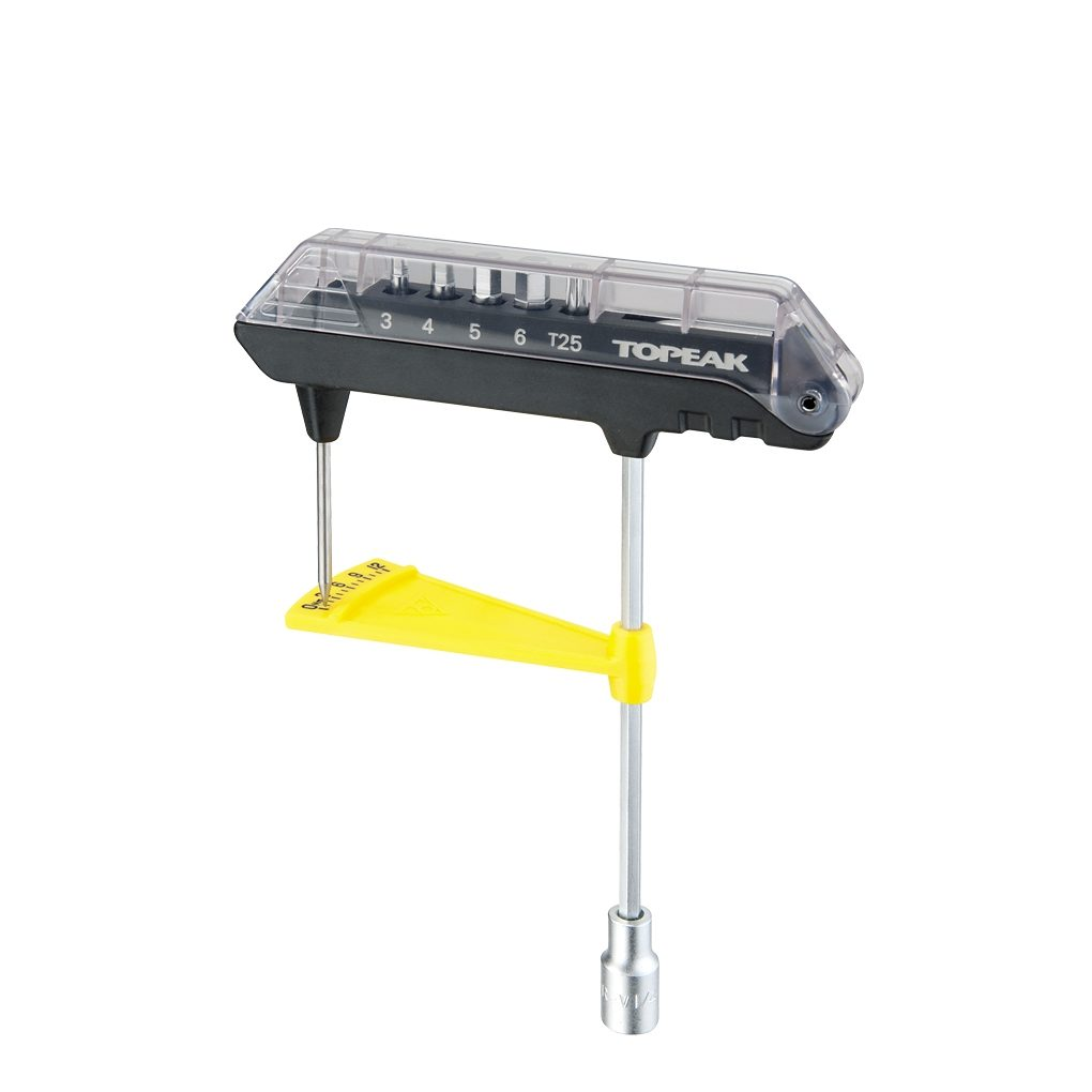 Topeak Werkzeug & Montage »Topeak ComboTorq Wrench & Bit Set«